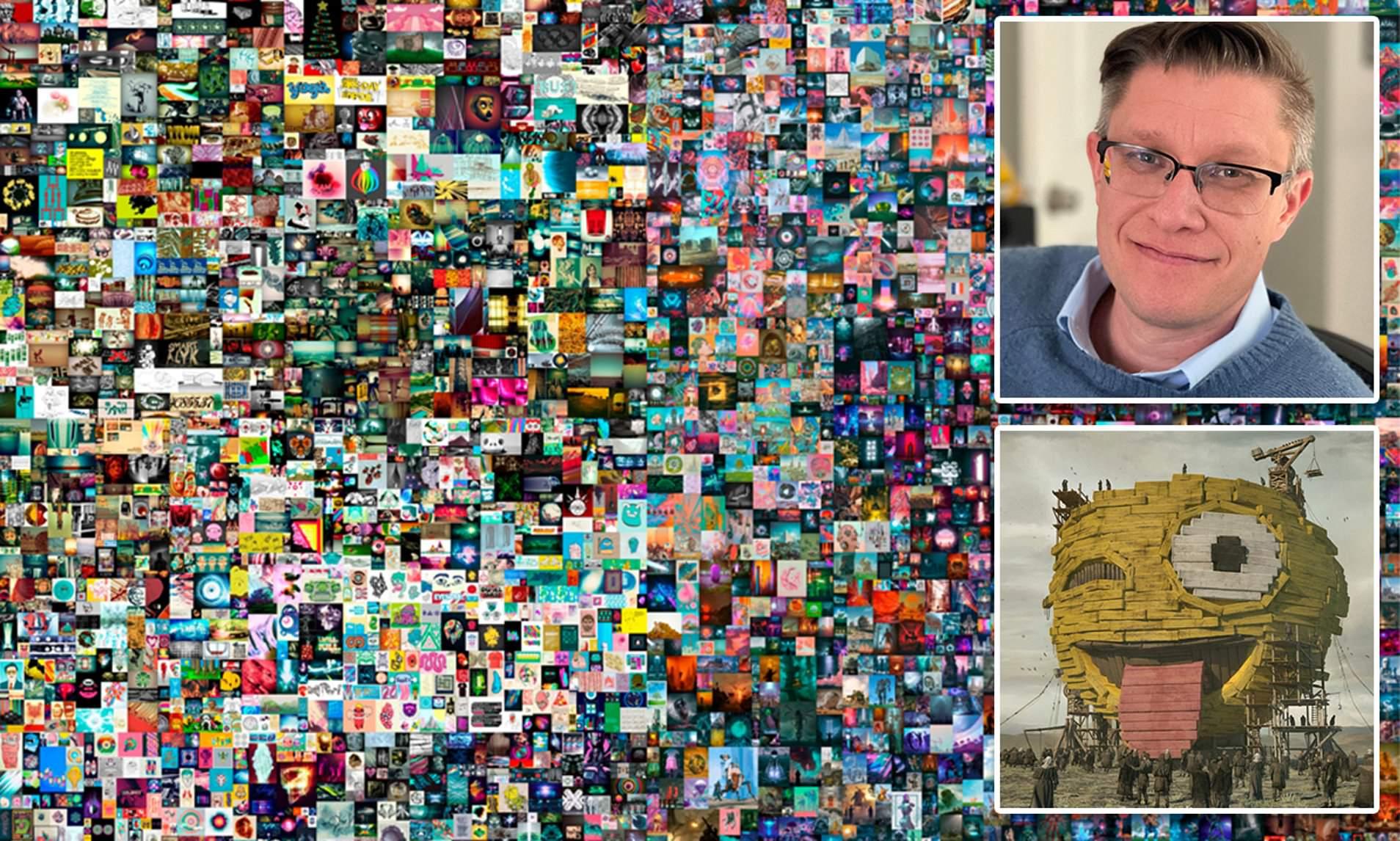 અમેરિકાના આર્ટિસ્ટ બીપલની તસવીરની ડિજિટલ JPG ફાઈલ 501 કરોડ રૂપિયામાં વેચાઈ, રાતોરાત અબજોપતિ બની ગયો|લાઇફસ્ટાઇલ,Lifestyle - Divya Bhaskar