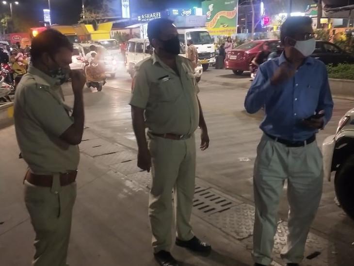 અમદાવાદમાં સોશિયલ ડિસ્ટન્સ ન જાળવતી હોટેલ-રેસ્ટોરાં ફરી બંધ કરાવાઈ; હેપી સ્ટ્રીટ, જોધપુર, પાલડી સહિતના વિસ્તારોમાં કાર્યવાહી|અમદાવાદ,Ahmedabad - Divya Bhaskar