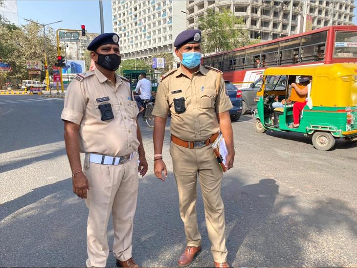 ગુજરાત પોલીસ 'બોડી વોર્ન કેમેરા'થી સજ્જ બની, ટ્રાફિક પોલીસ લાંચ લે અથવા ચાલક ગેરવર્તન કરે તો કેમેરાની આંખથી બચી નહીં શકે અમદાવાદ,Ahmedabad - Divya Bhaskar