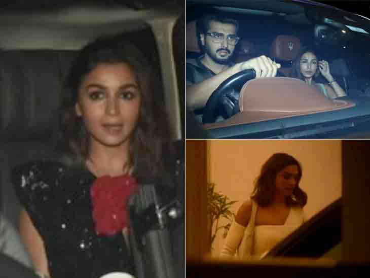 રણબીર વગર આલિયા ભટ્ટે 28મો જન્મદિવસ ઉજવ્યો, પાર્ટીમાં રણવીર-દીપિકા, અર્જુન-મલાઈકા આવ્યાં|બોલિવૂડ,Bollywood - Divya Bhaskar
