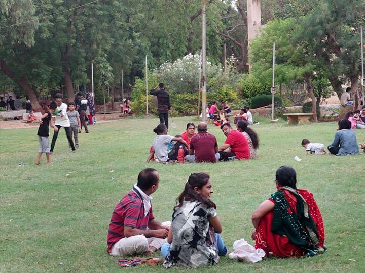 અમદાવાદમાં કોરોના બેકાબૂ થતાં બાગ-બગીચા, કાંકરિયા તળાવ અને પ્રાણીસંગ્રહાલય આવતીકાલથી બંધ|અમદાવાદ,Ahmedabad - Divya Bhaskar