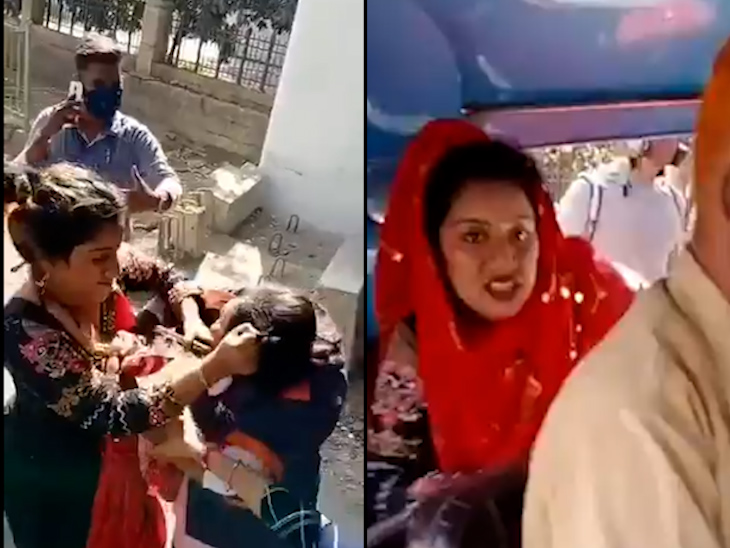 માસ્ક વગર રોકતાં મહિલાએ લાફા ઝીંક્યા, BMCની ફિલ્ડ માર્શલના વાળ ખેંચી મારામારી કરી|ઈન્ડિયા,National - Divya Bhaskar