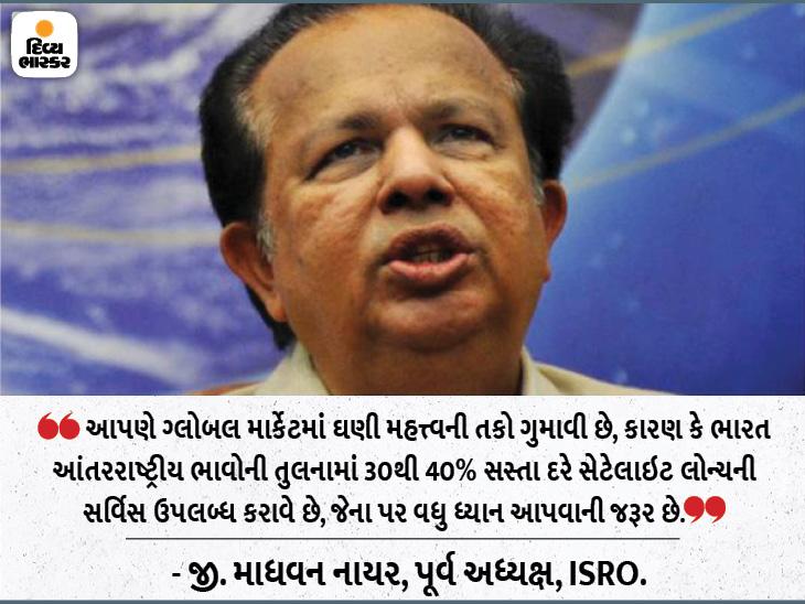સ્પેસ વૈજ્ઞાનિકે કહ્યું- મસ્કના બિઝનેસ મોડલથી પ્રેરણા લેવી જોઈએ; રિયુઝેબલ રોકેટ ટેક્નોલોજી ISROને નવી ઊંચાઈ પર લઈ જશે|ઈન્ડિયા,National - Divya Bhaskar