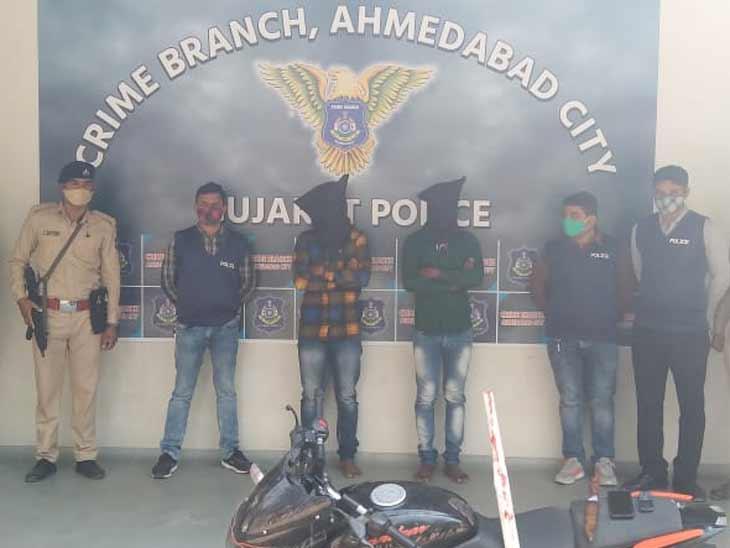 રાજ્યમાં લૂંટફાટ, હત્યા અને ગેંગરેપ જેવા કુલ 52 જેટલા ગુનામાં વોન્ટેડ ડફેર ગેંગના બે આરોપીઓની ક્રાઈમ બ્રાન્ચે ધરપકડ કરી|અમદાવાદ,Ahmedabad - Divya Bhaskar