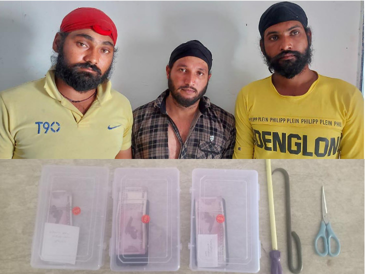 ઇકો કારની ચોરી કરી ઘરફોડ કરતી શિકલીકર ગેંગ પકડાઇ, રાજકોટ અને જૂનાગઢમાં 10 ઘરફોડ ચોરી કર્યાની કબૂલાત રાજકોટ,Rajkot - Divya Bhaskar