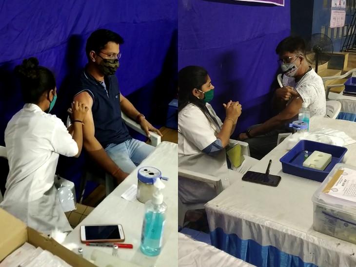 રાજકોટમાં 45 વર્ષના લોકોનું વેક્સિનેશન શરૂ, આજે બપોર સુધીમાં 5323 લોકોએ રસી લીધી રાજકોટ,Rajkot - Divya Bhaskar