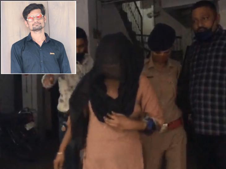 પતિ ઘરે આવ્યો તો મિત્રને જોઈ પત્ની સાથે આડાસંબંધની શંકા રાખી હત્યા કરી, પતિની ધરપકડ અને શંકાસ્પદ ભૂમિકાને લઈને પત્નીની અટકાયત|સુરત,Surat - Divya Bhaskar
