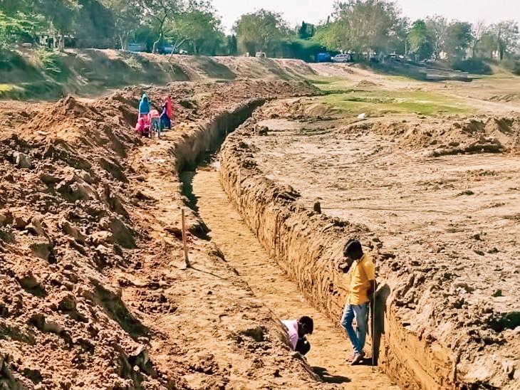 6.68 કરોડના ખર્ચે બનશે વિંઝોલ તળાવ, 81242 ચોરસ મીટર વિસ્તારમાં ચિલ્ડ્રન પ્લે એરિયા અને મોટું ગાર્ડન પણ હશે અમદાવાદ,Ahmedabad - Divya Bhaskar