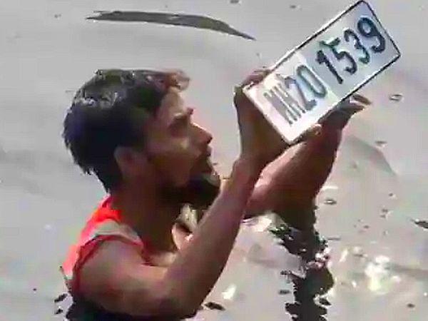 મીઠી નદીમાંથી મળી આવેલી નંબર પ્લેટ જાલનાથી ચોરી થયેલી કારની હતી, એન્ટિલિયા કેસમાં એના કનેક્શનની તપાસ શરૂ|ઈન્ડિયા,National - Divya Bhaskar