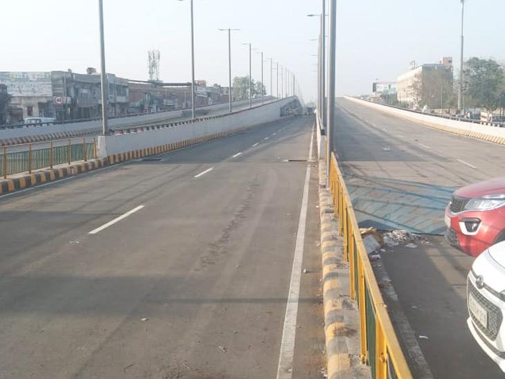 વિરાટનગર ઓવરબ્રિજ છેલ્લા એક મહિનાથી બનીને તૈયાર, મ્યુનિસિપલ ભાજપના સત્તાધીશો બ્રિજ શરૂ કરવા હજી રાહ જોઈ રહ્યાં છે|અમદાવાદ,Ahmedabad - Divya Bhaskar