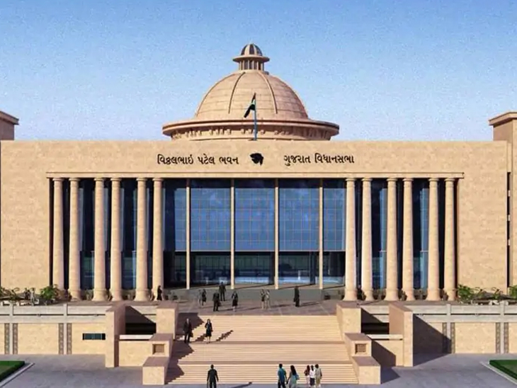 રાજ્ય સરકારે અછત અને અતિવૃષ્ટિમાં 10 હજાર કરોડ માગ્યા, કેન્દ્ર સરકારે એકપણ રૂપિયાની સહાય મોકલી નથી|ગાંધીનગર,Gandhinagar - Divya Bhaskar
