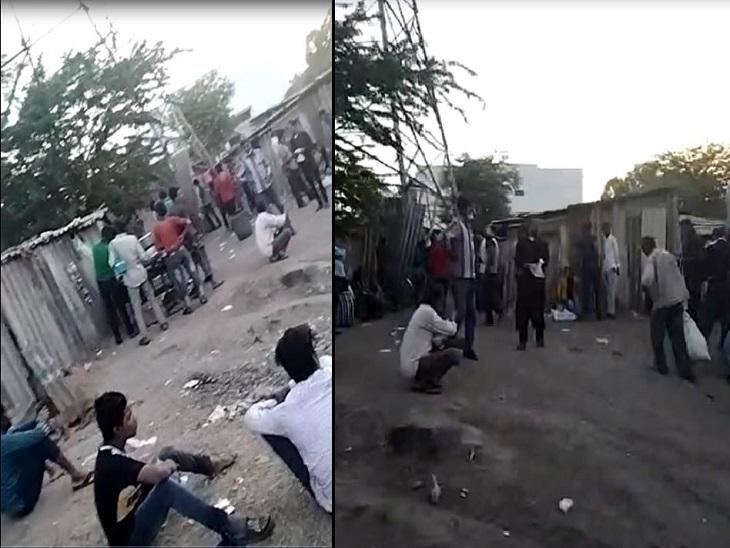 અમદાવાદના વટવામાં દારૂ વેચાતો વીડિયો વાઈરલ, લોકો ટોળે વળી પોટલી પીતા દેખાતા પોલીસ અધિકારીએ આપ્યા તપાસના આદેશ|અમદાવાદ,Ahmedabad - Divya Bhaskar