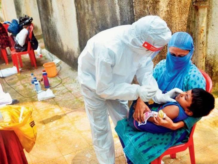 રાજકોટમાં એક વર્ષમાં 260 બાળકોને કોરોના થયો, થાયમસ ગ્રંથિ વધુ સક્રિય હોવાથી કોરોના ફેફસાં સુધી નથી પહોંચતો|રાજકોટ,Rajkot - Divya Bhaskar