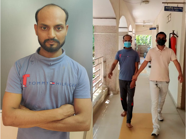 રાજકોટમાં રેલવેમાં નોકરીના નામે છેતરપિંડી કરતી ગેંગના વધુ એક શખ્સની SOGની ટીમે ધરપકડ કરી, આરોપીઓ 10 દી'ના રિમાન્ડ પર|રાજકોટ,Rajkot - Divya Bhaskar