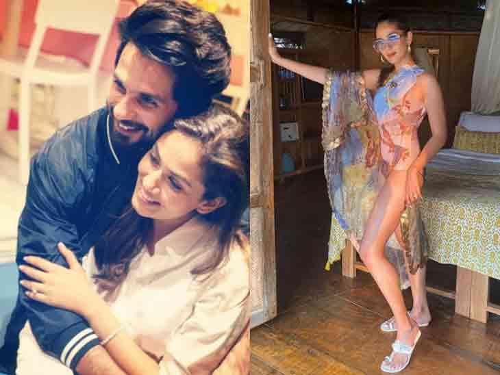 સ્વિમસૂટમાં શાહિદ કપૂરની પત્નીનો બોલ્ડ અવતાર, સો.મીડિયામાં તસવીર વાઈરલ બોલિવૂડ,Bollywood - Divya Bhaskar