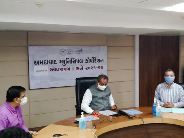 40 ચો.મી.ની રહેણાંક મિલકત ધારકોને ટેક્સ માફી, મેયર સહિતના શાસકોના વોર્ડમાં જ સુવિધાઓ વધારવાની જાહેરાત|અમદાવાદ,Ahmedabad - Divya Bhaskar