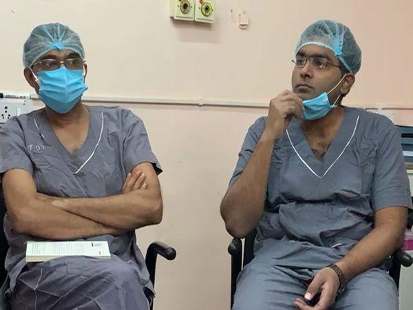 ઓપરેશન માટે ગાંધીનગરથી તબીબોની ટીમ આવે છે
