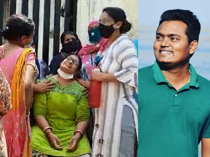 વડોદરાની સુમનદીપ હોસ્પિટલમાં કોરોનાગ્રસ્ત એન્જિનિયરનું મોત, 'મારી ખુશ્બૂ તને મેકઅપ કરી આપું' પતિની પ્રેમભરી વાતો યાદ કરીને પત્નીનું હૈયાફાટ રુદન|વડોદરા,Vadodara - Divya Bhaskar