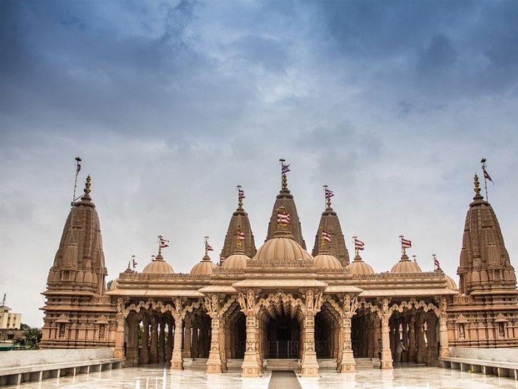 BAPS, ઇસ્કોન અને શ્રીનાથધામ હવેલીમાં દર્શનનો સમય ઘટાડાયો|રાજકોટ,Rajkot - Divya Bhaskar