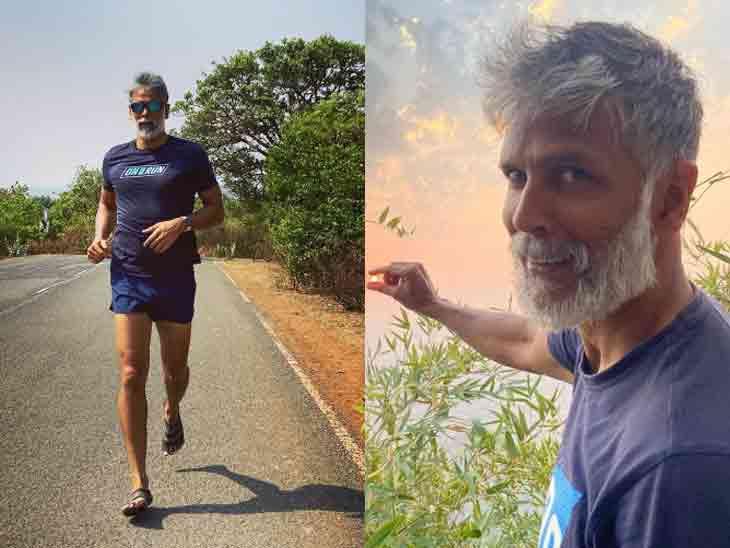 કોરોના નેગેટિવ આવ્યા બાદ મિલિંદ સોમણ 5 કિમી દોડ્યો, કહ્યું- '25 વર્ષમાં ક્યારેય ફ્લૂ નહોતો થયો'|બોલિવૂડ,Bollywood - Divya Bhaskar