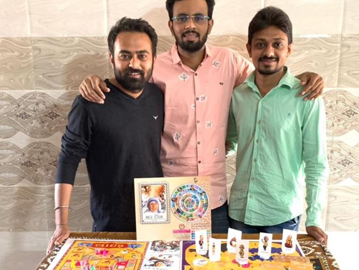 નવી પેઢીને ટીવી અને મોબાઈલ ગેમ્સમાંથી મુક્ત કરાવવા બોર્ડ-કાર્ડ ગેમ્સ બનાવી ગાંધીજી, મંડેલા છે સુપરહીરો|અમદાવાદ,Ahmedabad - Divya Bhaskar
