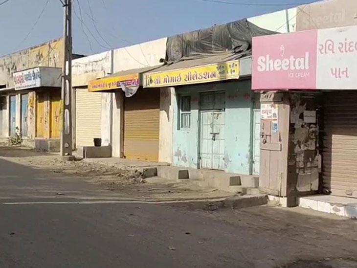 કોરોના કેસો વધતા કેટલાક ગામોમાં સ્વૈચ્છિક લોકડાઉન જેવી સ્થિતિ