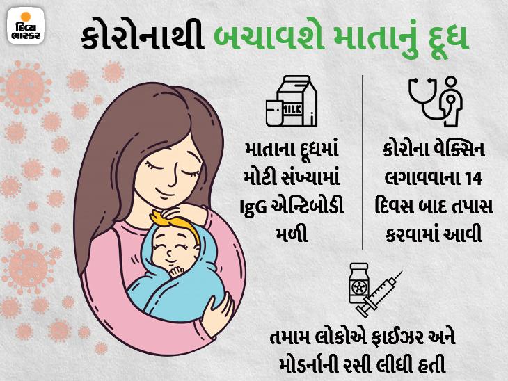 માતાનું દૂધ બાળકોને કોરોનાથી બચાવી શકે છે, અમેરિકામાં રિસર્ચ થયું- વેક્સિન લીધેલી માતાના દૂધમાંથી બાળકોમાં એન્ટિબોડી પહોંચી|યુટિલિટી,Utility - Divya Bhaskar