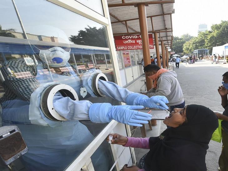 અમદાવાદની સિવિલ-SVPમાં 50થી વધુ દર્દીનો RT-PCR નેગેટિવ આવ્યો, છતાં બીજા જ દિવસે ગંભીર સ્થિતિમાં દાખલ કરવા પડ્યા|અમદાવાદ,Ahmedabad - Divya Bhaskar