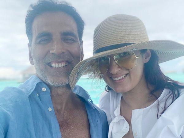 8 દિવસ પછી અક્ષય કુમાર હોસ્પિટલથી ઘરે આવ્યો, પત્ની ટ્વિન્કલે સો. મીડિયા પર ખુશી વ્યક્ત કરતા લખ્યું, 'ઓલ ઈઝ વેલ' બોલિવૂડ,Bollywood - Divya Bhaskar