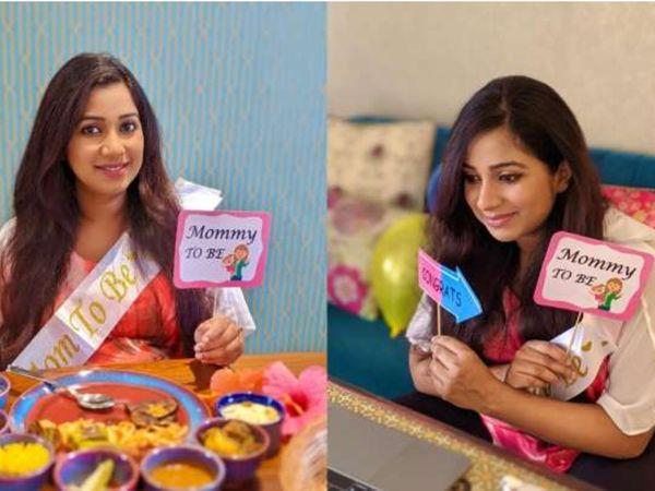 કોરોનાકાળમાં શ્રેયા ઘોષાલનો વર્ચ્યુઅલી બેબી શૉવર, સિંગરે લખ્યું, 'કાશ... આ લોકડાઉન કે કર્ફ્યૂ ના હોત!'|બોલિવૂડ,Bollywood - Divya Bhaskar