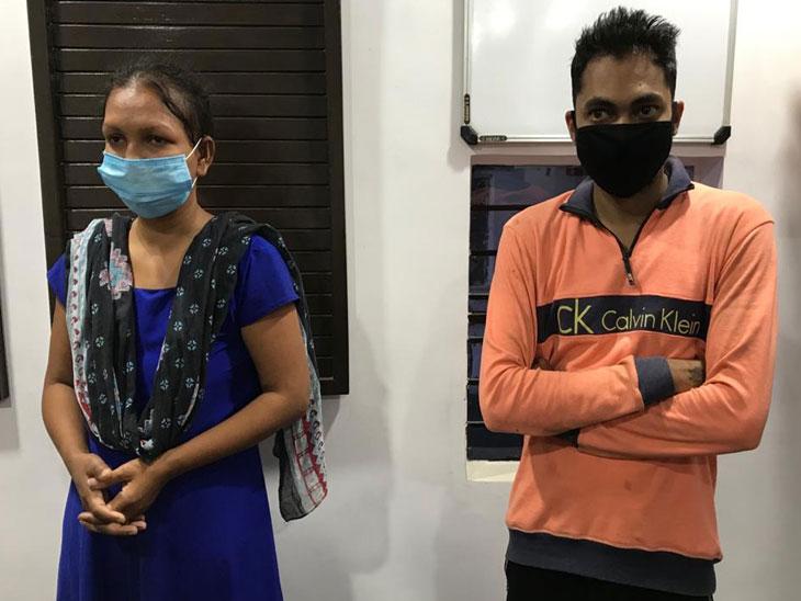 પ્રેમી સાથે મળી પતિની હત્યા કરી, આપઘાતમાં ખપાવવા લાશને ટ્રેક પર ફેંકી હતી|પારડી,Pardi - Divya Bhaskar