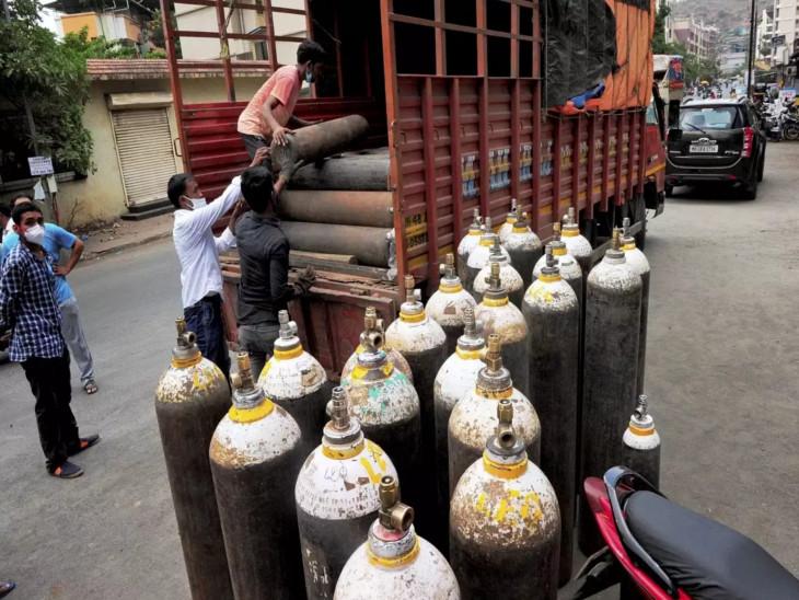 જામનગરની રિલાયન્સ રિફાઇનરી મહારાષ્ટ્રમાં અછત હોવાથી 100 મેટ્રિક ટન ઓક્સિજન મોકલશે!|ગાંધીનગર,Gandhinagar - Divya Bhaskar