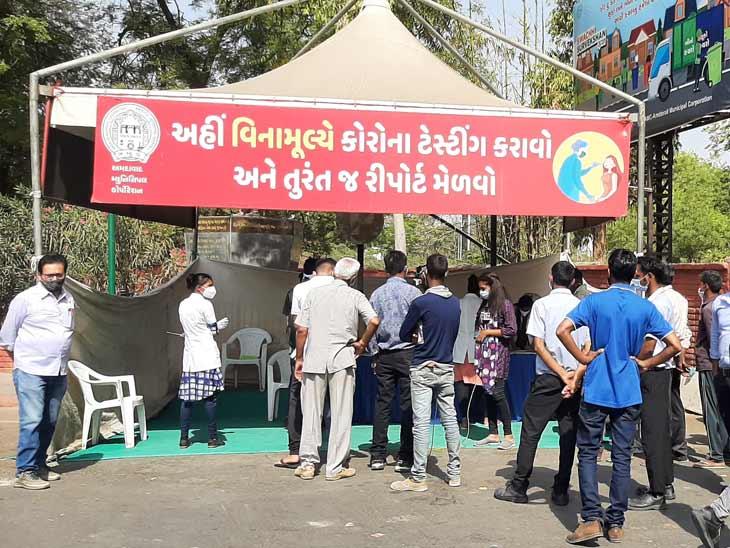6 એપ્રિલે આખા રાજ્યમાં જેટલા કેસ હતા એટલા શહેર અને જિલ્લામાં નોંધાયા, રેકોર્ડબ્રેડ 3,303 નવા કેસ અને 25ના મોત|અમદાવાદ,Ahmedabad - Divya Bhaskar