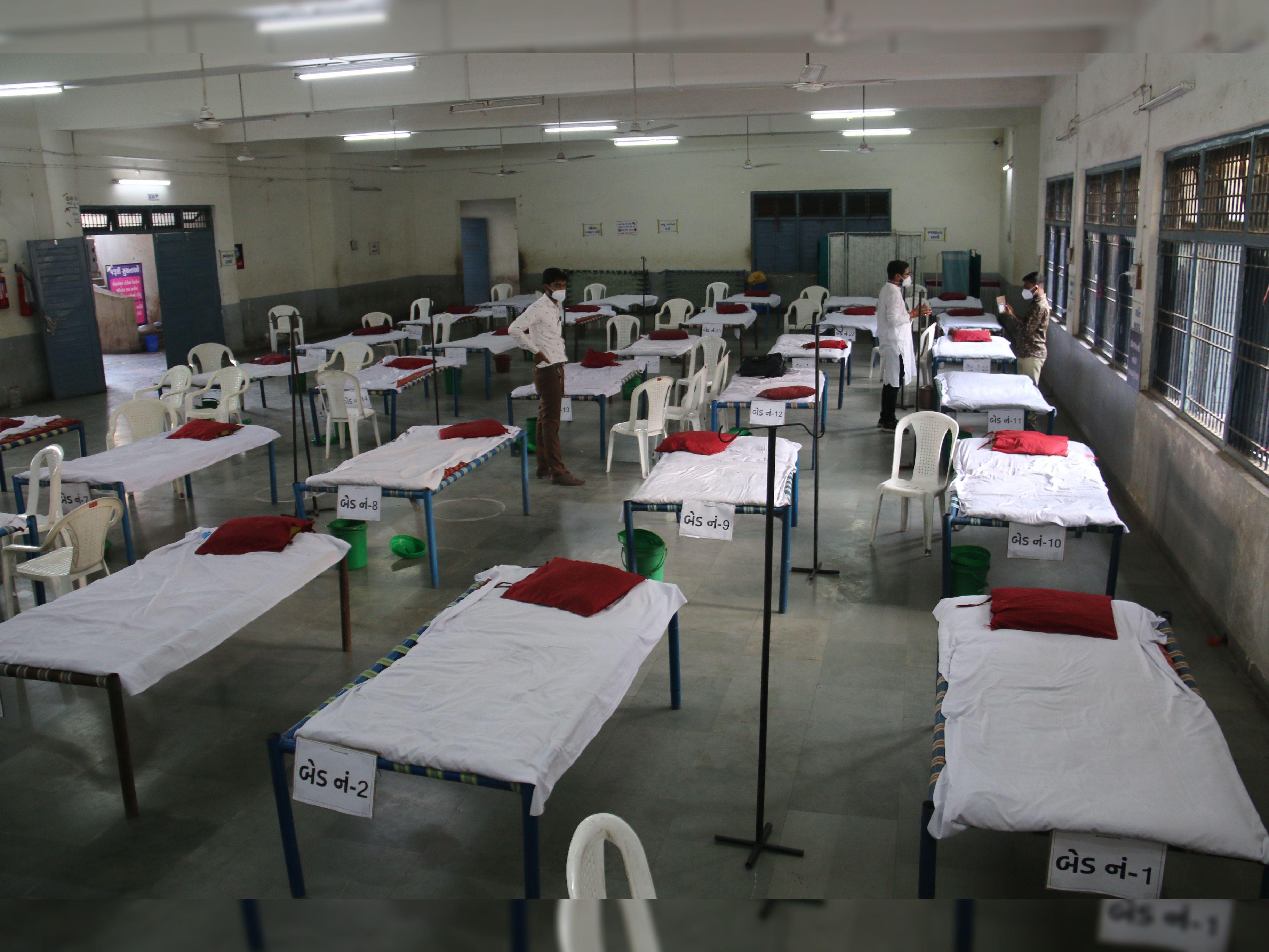 વરાછામાં માત્ર છ જ દિવસમાં સાત આઇસોલેશન સેન્ટર ઉભાં કરાયાં, બે દિવસમાં 20 લાખનું દાન, 1 હજાર લોકો દર્દીઓની સેવા માટે તૈયાર|સુરત,Surat - Divya Bhaskar