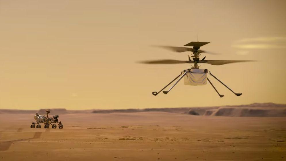 NASAનું હેલિકોપ્ટર ઈન્જેન્યૂટી કાલે મંગળ ગ્રહના વાતાવરણમાં ઉડાન ભરશે, સ્પેસ એજન્સીની વેબસાઈટ પર લાઈવ ટેલીકાસ્ટ પણ થશે|વર્લ્ડ,International - Divya Bhaskar