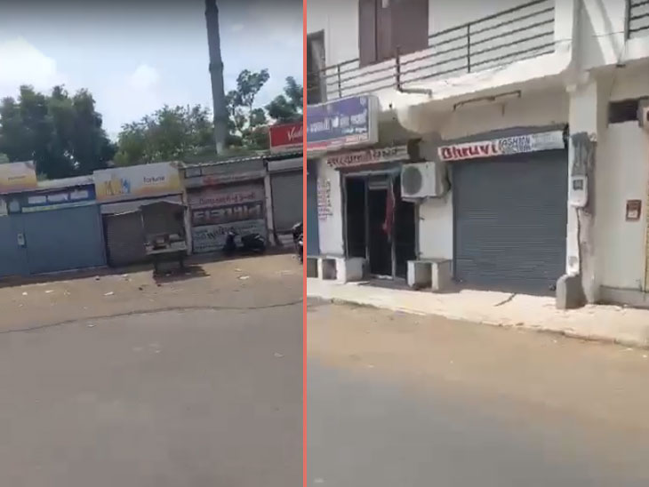 લોકોએ નહિ પણ નેતાઓ દ્વારા સ્વૈચ્છિક લોકડાઉન, વસ્ત્રાપુર, સાબરમતી, રાણીપ, સરદારનગરમાં બપોરે 2-3 પછી વેપાર-ધંધા બંધ|અમદાવાદ,Ahmedabad - Divya Bhaskar
