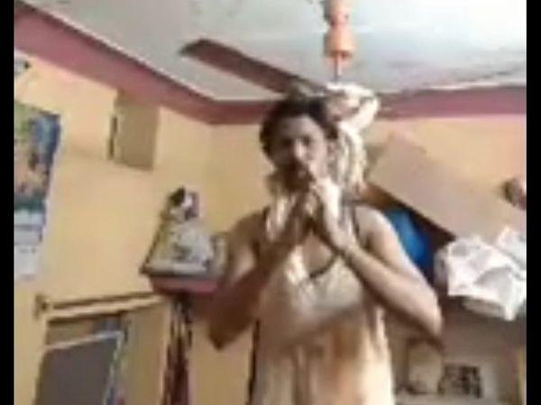મૃતક મનીષ (35) તેજાજી મંદિર સકતપુરા વિસ્તારનો રહેવાસી હતો. બે મહિના પહેલાં તે ગુમાનપુરા વિસ્તારમાં હાર્ડવેરની દુકાનમાં કામ કરતો હતો. હાલમાં તે બેરોજગાર હતો. - Divya Bhaskar