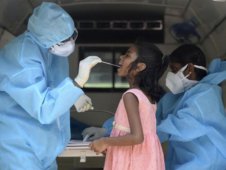 અમદાવાદમાં બાળકોની હોસ્પિટલમાં દાખલ દર 10માંથી 4 કોરોના પોઝિટિવ; ચેપગ્રસ્ત મોટાભાગના બાળકો 12 વર્ષ સુધીના છે અમદાવાદ,Ahmedabad - Divya Bhaskar