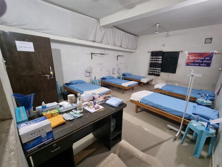 અમદાવાદમાં પ્રથમ વખત પોલીસ મથકમાં આઇસોલેશન રૂમ બનાવાયા, 5 નોર્મલ, 2 ઓક્સિજન બેડ સાથે અમદાવાદ,Ahmedabad - Divya Bhaskar