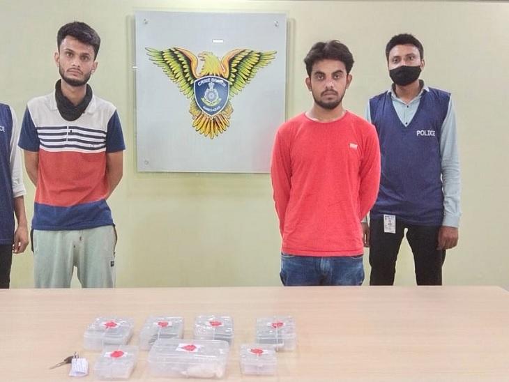 અમદાવાદમાં ડ્રગ્સનો કારોબાર, વોટ્સએપ કોલ મારફતે MD ડ્રગ્સ મંગાવનાર બે શખ્સની ધરપકડ|અમદાવાદ,Ahmedabad - Divya Bhaskar