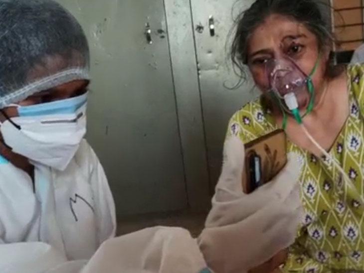 સમરસ કોવિડ કેર સેન્ટરમાં દર્દીઓની સારવારની સાથે સેવા રાજકોટ,Rajkot - Divya Bhaskar