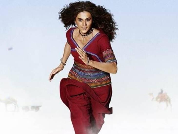ફિલ્મમાં તાપસી પન્નુ 3 અલગ અલગ લુકમાં જોવા મળશે, કેરેક્ટરની બોડી લેંગ્વેજમાં આવવા માટે 5થી 6 કલાક કામ કરતી હતી|બોલિવૂડ,Bollywood - Divya Bhaskar