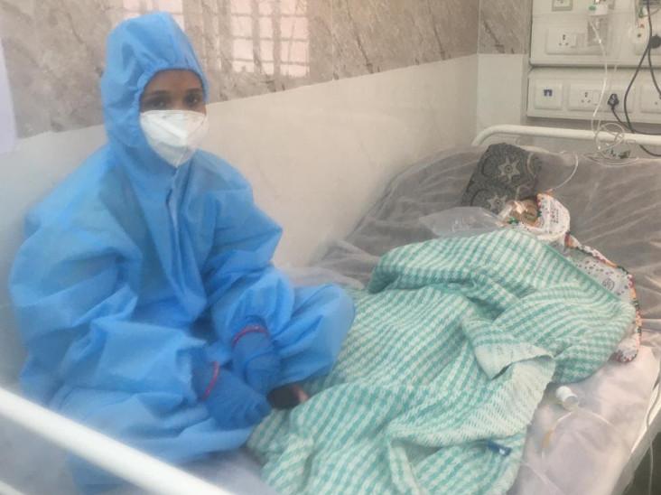 10 પથારીનું પીડિયાટ્રીક કોવિડ યુનિટ 23 વધુ સંક્રમિત બાળકોની સઘન સારવારમાં ખૂબ ઉપયોગી નિવડયું