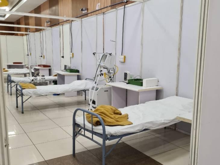 અમદાવાદમાં વિશ્વ ઉમિયાધામના સહયોગથી 120 બેડની ઓક્સિજન અને વેન્ટિલેટર સાથેની કોવિડ હોસ્પિટલ શરુ કરાઈ|અમદાવાદ,Ahmedabad - Divya Bhaskar