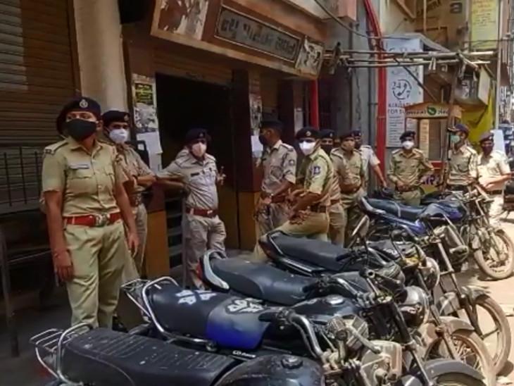 વહીવટી તંત્ર દ્વારા બજારો અને માર્કેટ બંધ કરવા માટે કવાયત શરૂ, વેપારીઓમાં રોષ સુરત,Surat - Divya Bhaskar