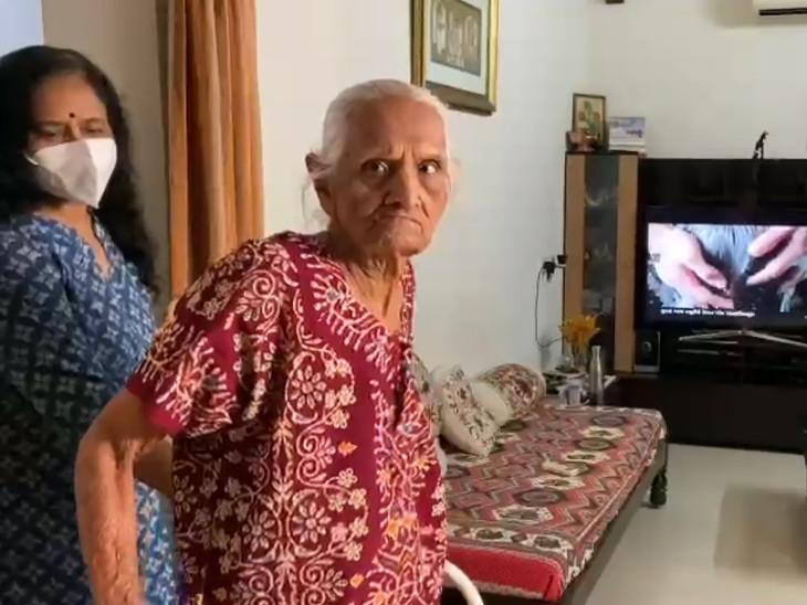 95 વર્ષની ઉંમરે કોરોનાને માત આપીને લાખો લોકો માટે કોરોનાને હરવવા માટેની પ્રેરણા પુરી પાડી છે