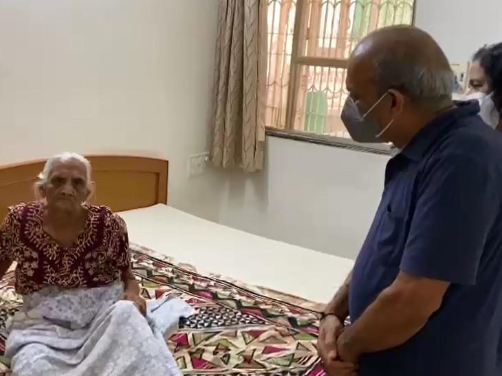 95 વર્ષના દાદીએ માત્ર 6 દિવસમાં જ કોરોનાને માત આપી દીધી છે