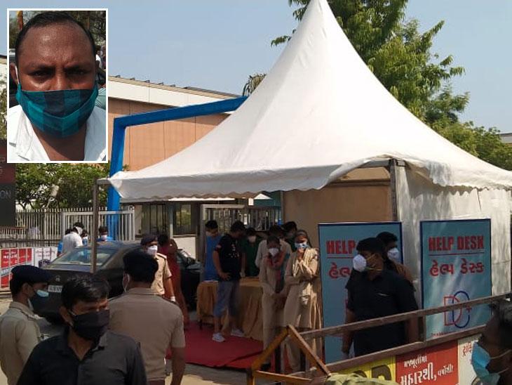 70 વર્ષના દાદીને ઓક્સિજનની જરૂર છે, પણ અહીં ટોકન સિસ્ટમ હોવાથી રખડી રહ્યા છીએ, કોઈ જવાબ આપતું નથી: દર્દીના સગા|અમદાવાદ,Ahmedabad - Divya Bhaskar