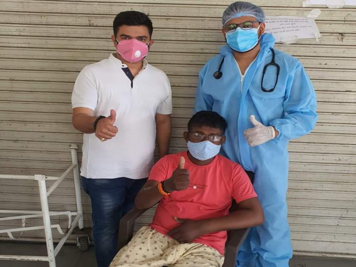 સુરતના યુવાનની બંને કિડની ફેલ છતાં કોરોના સામે 6 દિવસમાં જંગ જીત્યો, સિવિલમાં દર્દીઓને મારી નાખે એ વાત ખોટી હોવાનો પરિવારે અનુભવ કર્યો સુરત,Surat - Divya Bhaskar