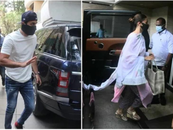 રણબીર કપૂર ગર્લફ્રેન્ડ આલિયા સાથે મમ્મી નીતુ સિંહના ઘરે આવ્યો, ફોટોગ્રાફર્સને જોઈ ગુસ્સામાં બોલ્યો- તમે લોકો આ ખોટું કરી રહ્યાં છો|બોલિવૂડ,Bollywood - Divya Bhaskar